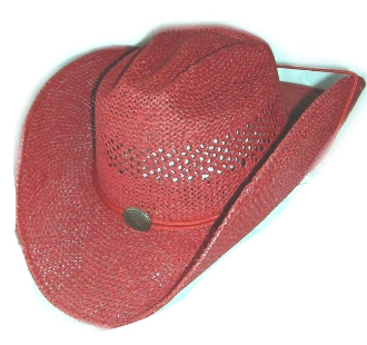 Red straw cowboy hat, cowboy hat, Red cowboy hat, straw cowboy hat, red western straw hat, red western cowboy hat, western straw hat, western straw cowboy hat, cowboy hat with draw string
