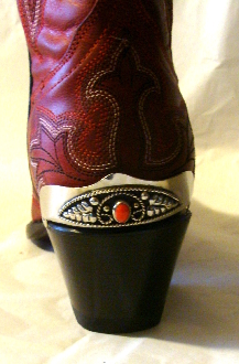 boot heel guards, gold Cowboy boot heel guards, Cowboy boot heel guards, brass boot guards, cowboy boot jewelry, heel guards for cowboy boots