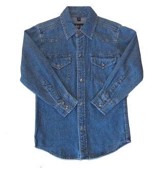 Child Blue Denim western shirt, child western shirt, western shirts for kids, child western clothing, kids western wear, child western wear, childrens western wear, girls western wear, western clothes for kids, western clothes for girls