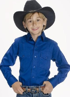 Child Royal blue western shirt, child western shirt, western shirts for kids, child western clothing, kids western wear, child western wear, childrens western wear, girls western wear, western clothes for kids, western clothes for girls