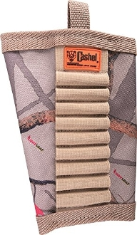 HotLeaf Camo Nylon Rifle Stock Ammo Holder, Nylon Rifle Stock Ammo Holder, Rifle Stock Ammo Holder