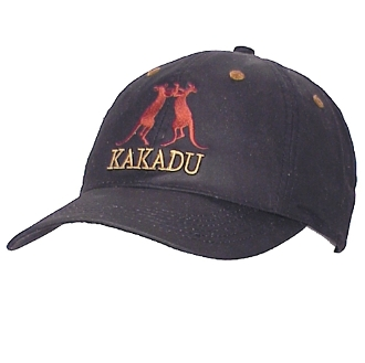 Kakadu Cotton Canvas Black Baseball Cap