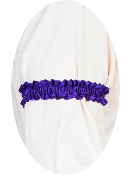 USA Made Scully Wahmaker purple Sleeve Garter