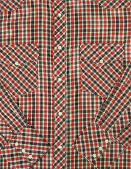 Mens Red and Navy plaid pearl snap western, big and tall, western shirts for men, cowboy shirt, western shirt with snaps, plaid western shirt, mens plaid western shirt, western shirt vintage,