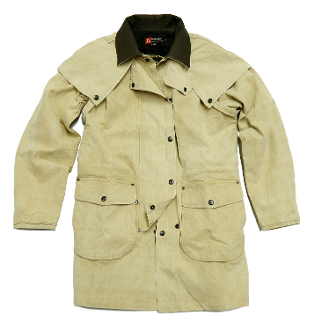 "This ""Gold Coast"" Kakadu Cornsilk Cotton Canvas Duster Jacket is unique in it's look and design. This jacket is made like a duster in durable cotton canvas. The Gold Coast is a Kakadu classic 2-in-1 duster jacket."