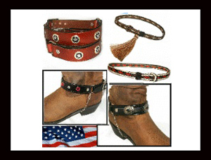 Cowboy boot chains, Cowboy boot tips and heels, boot bracelets, leather boot chains, western boot chains, cowboy boot harness, cowboy boot jewelry