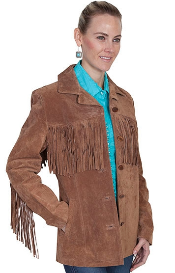 womens brown fringe coat, womens fringe, Womens Scully jacket, fringe jacket for women, scully fringe jacket, western fringe jacket, womens fringe jacket, womens fringe jacket, Beaded fringe western jacket