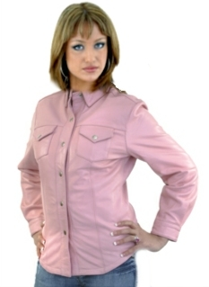 womens Concealed carry western shirt, Concealed carry pink leather shirt, Concealed carry pink western shirt, pink leather Concealed carry shirt for women, Concealed carry western shirts for women, pink leather Concealed carry