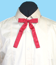 "Scully 6.75"" Red Kentucky Neck Tie"
