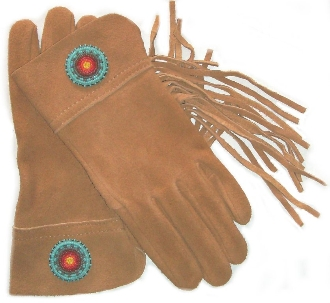 suede western gloves, native style gloves, beaded gloves, western riding gloves, Indian beaded gloves, cowboy gloves, leather western gloves, rodeo gloves, cowboy rodeo gloves, western glove