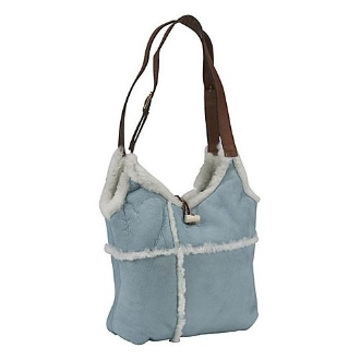 blue Shearling hand bag purse by Scully, blue shearling purse, blue western purse western purse, fur purse, sheepskin purse, ladies purses, western purses