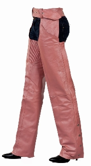 pink chaps, pink leather chaps, pink western chaps, pink chaps for women, western chap chinks, pink rodeo chaps, western chaps and chinks, leather western chaps,