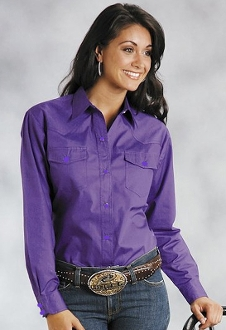 Womens long sleeve purple western shirt, purple western shirt, womens purple western shirt, purple western shirt for women