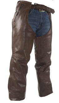 Brown Leather Chaps, Brown Leather western chaps, western chaps for men, western chaps for women, western chap chinks, rodeo chaps, western chaps and chinks, leather western chaps,