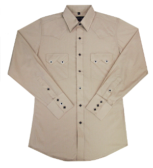 This Mens Diamond Pearl Snap Stone Western Shirt has the vintage style classic western pockets from the retro 50's with black diamond pearl snaps a favorite for all cowboys and western fans.