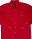 This Mens Diamond Pearl Snap Red Western Shirt has the vintage style classic western pockets from the retro 50's with matching red diamond pearl snaps a favorite for all cowboys and western fans.
