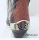 These Silver Filigree Cut-out Cowboy Boot Heel Guards are silver plated full coverage for the back of your western cowboy boot with a one size fits most back heel guard.