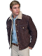 This Scully Mens Brown Suede Fur Collar Western Jacket is a great looking on the range functional jacket. The entire inside is lined with a faux shearling or sheepskin so soft to the touch.
