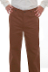 These Mens Scully Brown Herringbone Gentlemen Cotton Pants are made in the USA. These are the pants you'll want for those special occasions. button fly, two side entry pockets and suspender buttons