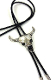 This Longhorn Silver Skull Bolo Tie is silver plated USA MADE for the rugged old west look with a black bolo string great on a cowboy shirt