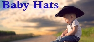 Infant  toddler Cowboy Hats