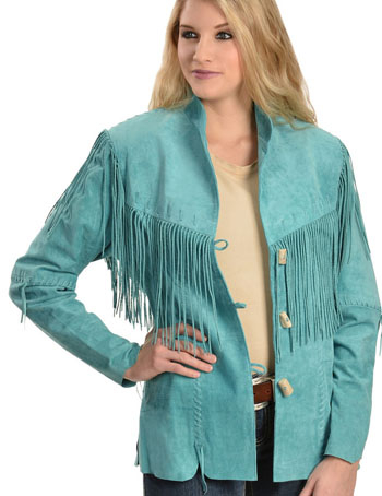 womens western coats, womens western vests, western jacket, western fringe jacket, western jackets for womens, western fringe coats, western coats, western jackets for ladies, suede jackets for womens, suede vest, scully turquoise jacket