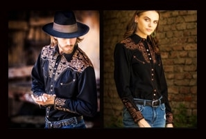 matching western shirts, his and hers matching western shirts, matching western wear, family matching western wear, western shirt, matching shirts, matching club shirts, club western shirts, western club shirts, matching horse shirts
