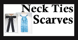 Dress up your old west look with a western neck scarf and scarf slides made for frontier shirts and to go with a western wedding for that authentic look.