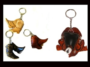western key ring, western keychains, western key holder, cowboy boot key ring, cowboy boot keychain, gun keychain, saddle keychain, saddle key ring, horse key ring, coin purse, moccasin coin purse, saddle coin purse, western coin purses